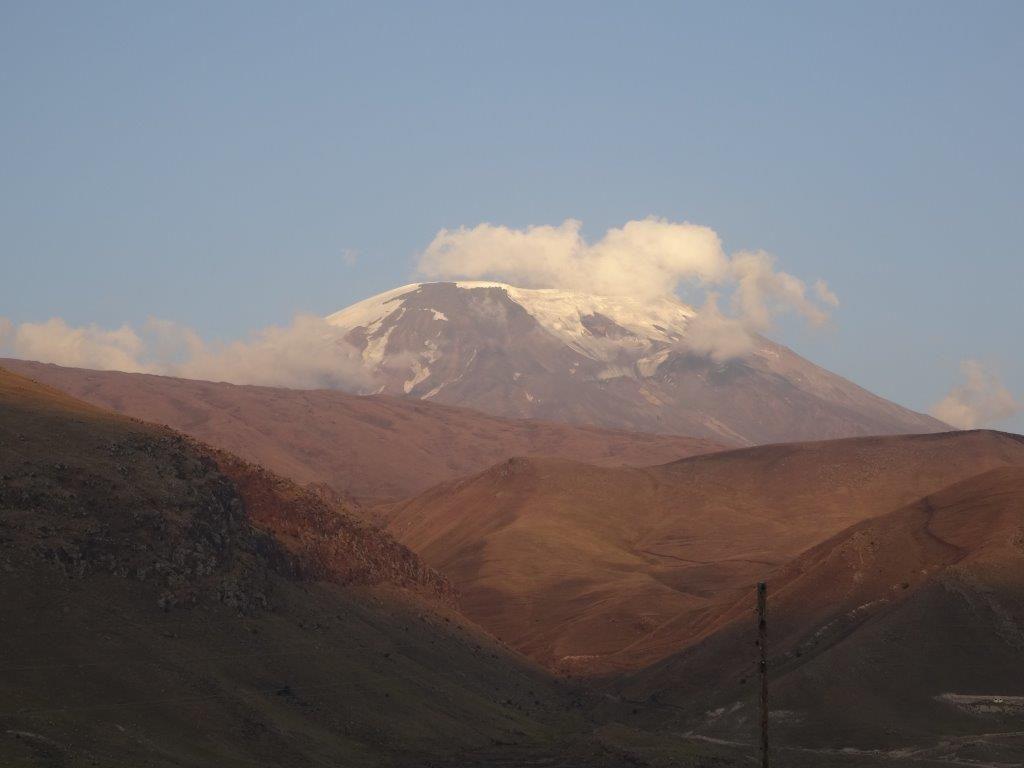 Mont ARARAT près de l'Arménie