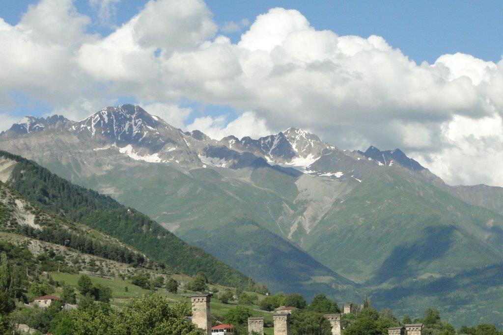 la superbe montagne