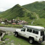 petit village avec ses tours de defense a 3000m