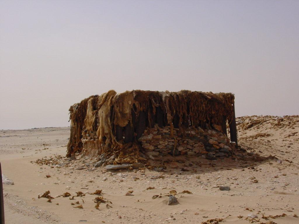 Habitation au Sahara..