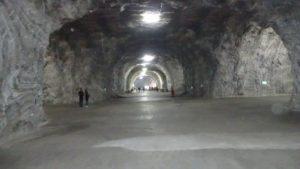 intérieur mine de sel..