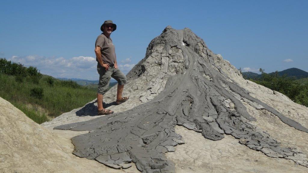 volcan de boue..