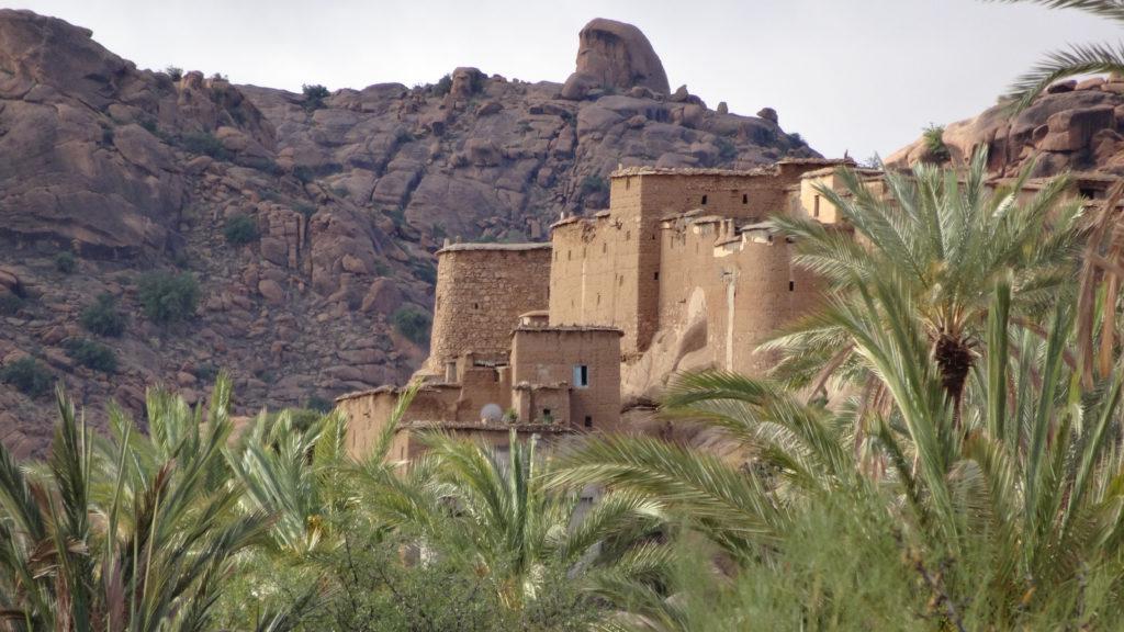 Ksar près de Tafraoute.