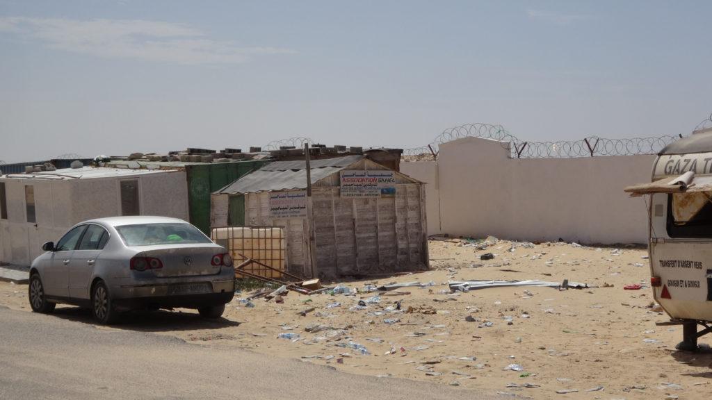 sortie de la frontière Mauritanienne..!