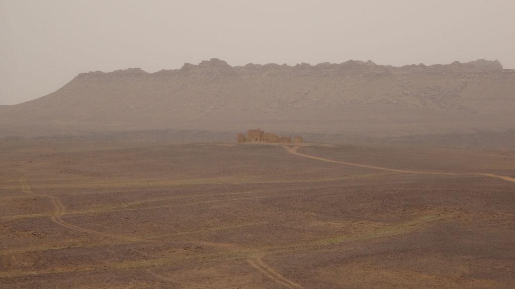 restes du Fort Saganne film tourné avec Depardieu en 1983..