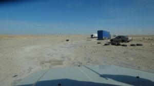 """après la frontière Marocaine """"No Man's land"""" de 5Km avant la frontière Mauritanienne..!"""