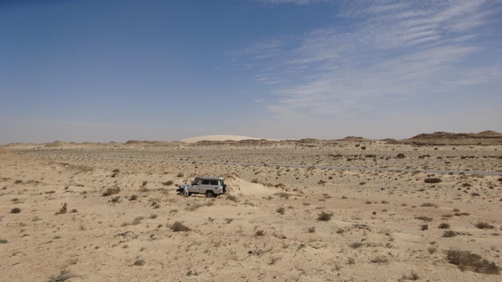 plus que 400km pour arriver à la frontiere Mauritanienne!