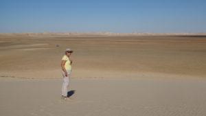 """seuls sur la """"dune Blanche"""""""
