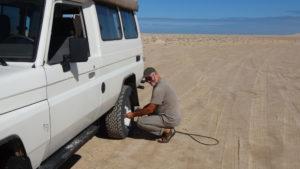 après le sable il faut regonfler..