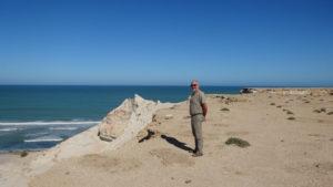 le long de l'atlantique à 2000km de Tanger..