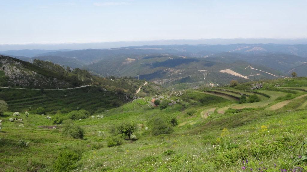 Montagne sud du Portugal
