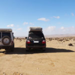 on est parti pour 250km de désert .