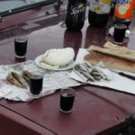 Petit déjeuner au Vin..!