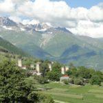 Tour de défense haut caucase Georgien