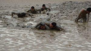 Bain de boue .c'est Fun!