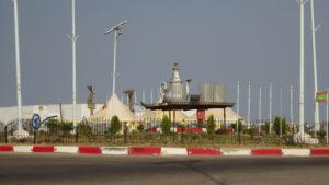 arrivée sur Nouakchott..