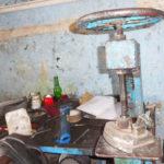 le matériel est antique home made!